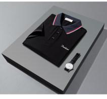 Polo shirt Other / other Business gentleman thin White, gray, black M,L,XL,2XL,3XL,4XL standard business affairs summer