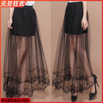 skirt Summer 2017 Average size 608 black, 616 white, 623 black, 616 black, 01 white, 609 white, 02 black, 609 black, 622 white, 622 black, 610 white, 621 white, 610 black, 621 black, 02 white, 608 white, 01 BLACK, 623 white longuette commute Irregular Solid color Type A 18-24 years old BBB Lace