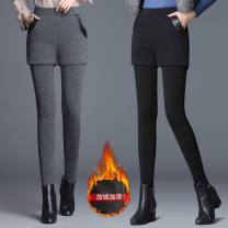 Leggings Winter 2020 Black [plush and thickened] , Grey , Black [803b thickened] , Black [spring and autumn thin] , Grey M recommendation 75 - 100 Jin , L recommendation 100 - 115 Jin , XL recommendation 115 - 128 Jin , 2XL recommendation 128 - 145 Jin , 3XL recommendation 145 - 160 Jin Plush