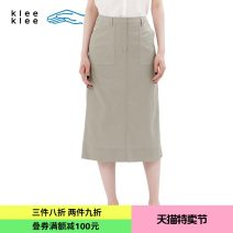 skirt Summer of 2018 26/160 27/165 Khaki Green 52 gray blue 61 Middle-skirt commute Natural waist 25-29 years old S181SK03 More than 95% Zuczug / Suran cotton pocket Simplicity Cotton 100% Same model in shopping mall (sold online and offline)