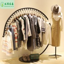 Clothing display rack Small size length 120 high 120 medium size length 150 high 150 large size length 170 high 160 small and medium size two piece set clothing Metal 158874840623826_ RBWIq Love castle