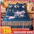 Mat / bamboo mat / rattan mat / straw mat / cowhide mat Mat Kit Cellulose material (regenerated cellulose fiber) 1.8*2.15m,2.0*2.2m,2.2m,2.5m Folding Qualified products C3E69060