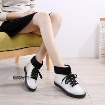 Rain shoes Other / other 37,39,35,38,36 PVC Winter 2016 PVC cotton PVC Sweet Short tube winter