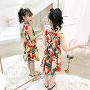 Dress Dahua [cotton fabric] female Face of Gongfen 110cm 120cm 130cm 140cm 150cm 160cm Viscose (viscose) 83.6% polyamide (nylon) 16.4% summer Korean version Skirt / vest Broken flowers other A-line skirt Class B Summer 2021 Chinese Mainland Zhejiang Province Huzhou City