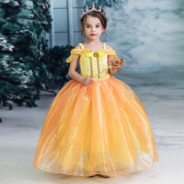 Dress female Other / other 110cm,120cm,130cm,140cm,150cm No season princess Skirt / vest Solid color other Irregular Class A 2, 3, 4, 5, 6, 7, 8, 9, 10, 11 Chinese Mainland