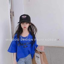 Parent child fashion Pre sale of white, blue, black, grey, ground jeans other female Other / other 110cm,120cm,130cm,140cm,150cm,160cm See description summer leisure time Solid color cotton Chinese Mainland