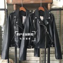 leather clothing Other / other Autumn 2020 L,M,XL,XS,S black 3427/003