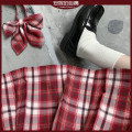 skirt Summer 2020 XS,S,M,L,XL Skirt length 42, skirt length 45 Short skirt Versatile Natural waist Pleated skirt lattice Type A 18-24 years old 71% (inclusive) - 80% (inclusive) other Other / other other Original lattice