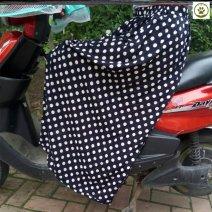 skirt 001 Poplin Bohemia Summer 2021 longuette High waist Lantern skirt Sweet Dot Viscose Type A Other / other One size, plus size