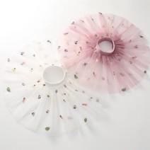 skirt 90cm 100cm 110cm 120cm 130cm 140cm White pink black Dalio female Other 100% summer Miniskirt Korean version other Cake skirt polyester fiber Summer 2021