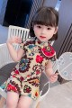 cheongsam 90 100 110 120 130 Other 100% Dalio There are models in the real shooting summer other other Summer 2021 12 months, 6 months, 9 months, 18 months, 2 years, 3 years, 4 years, 5 years, 6 years Chinese Mainland