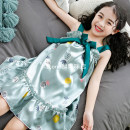 Home skirt / Nightgown Wen Qing Other polyester 95% 5% summer female Home Class B other WQ20-05