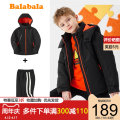 suit Bala 140cm 150cm 160cm 165cm 170cm 175cm male winter leisure time Long sleeve + pants 2 pieces routine There are models in the real shooting Zipper shirt nothing other Cotton blended fabric Giving presents at school Class B Polyester 100% Winter 2020 Chinese Mainland