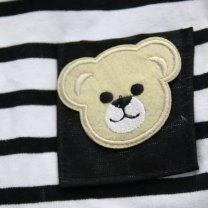 Pet clothing / raincoat currency skirt XXL,XL,L,M,S Other / other leisure time Black and white stripes tXCqX
