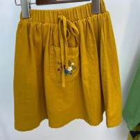 skirt 90cm,100cm,110cm,120cm,130cm yellow Other / other female Other 100%
