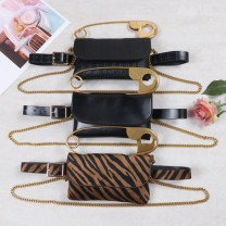 Bag Pocket PU Envelope bag Other / other brand new European and American fashion Small leisure time soft Buckle no Solid color Single root nothing youth Horizontal square Hard handle polyester fiber inside pocket with a zipper PU leather