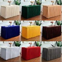 tablecloth Plush Simple and modern Solid color Congya (home cloth art) JSR