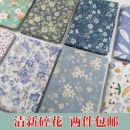 Fabric / fabric / handmade DIY fabric cotton printing and dyeing Other / other 100%