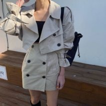 Outdoor casual suit Tagkita / she and others female 101-200 yuan one hundred and eighty S,M,L,XL Jacket + skirt, collection plus purchase priority delivery spring Spring 2021