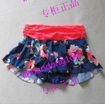 Split swimsuit An Lifang No chest pad