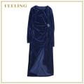 Dress Autumn 2020 Blue, black