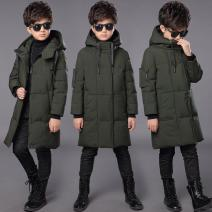 Cotton padded jacket male No detachable cap other Other / other Black, army green, orange 120cm (120cm, 110-115cm), 130cm (130cm, 120-125cm), 140cm (140cm, 130-135cm), 150cm (150cm, 140-145cm), 160cm (160cm, 150-155cm), 170cm (170cm, 160-165cm) thickening Zipper shirt leisure time other other Class A
