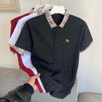 Polo shirt Other / other Fashion City thin White, red, black M,L,XL,2XL,3XL easy Other leisure summer