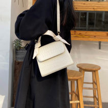 Bag The single shoulder bag PU Small square bag Other / other Black, white, yellow, blue Japan and South Korea Small Single shoulder nothing youth Artificial leather