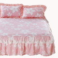 Bed skirt 120x200 [single bed skirt], 150x200 [single bed skirt], 180x200 [single bed skirt], 180x220 [single bed skirt], 200x220 [single bed skirt], [pillow case pair] single shot bufahuo cotton Other / other Plants and flowers Qualified products 7E3327E8