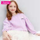 Sweater / sweater Deesha / Desha Fog purple light rice female 120cm 130cm 140cm 150cm 160cm 165cm spring and autumn nothing leisure time Socket routine There are models in the real shooting other other Cotton 95% polyurethane elastic fiber (spandex) 5% 2117025E1 Class B Spring 2021