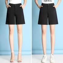 Casual pants S,M,L,XL,2XL,3XL,4XL Summer of 2018 Pant Wide leg pants High waist commute Thin money See description