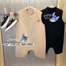 Jumpsuit / climbing suit / Khaki luson other male 80, 90, 100, 110, 120, 130, 140 other summer Sleeveless Long climb leisure time There are models in the real shooting nothing Other 100% Socket 12 months, 18 months, 2 years, 3 years old