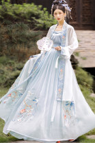 Hanfu 81% (inclusive) - 90% (inclusive) Long back + bra + skirt S M L XL polyester fiber