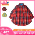 Dress R-red y-yellow female Daddy oh Daddy 100cm 110cm 120cm 130cm 140cm 150cm Cotton 100% spring and autumn solar system lattice cotton other V14310 3 years old, 4 years old, 5 years old, 6 years old, 7 years old, 8 years old, 9 years old, 10 years old, 11 years old, 13 years old, 14 years old