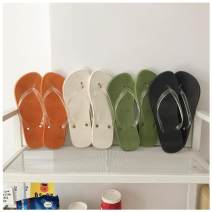 slipper Flat bottom Flat heel (1cm or less) EVA Spring 2016 EVA Sweet Youth (18-40 years old) Solid color T-type bandage