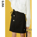 skirt Spring 2021 S M L Black apricot Middle-skirt Versatile Natural waist A-line skirt Solid color Type A 18-24 years old QJN8546 More than 95% other Qingjiaona other Other 100% Pure e-commerce (online only)