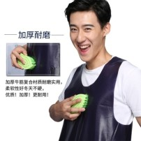apron Sleeveless apron waterproof Simplicity PVC Household cleaning Average size L37808 public Solid color