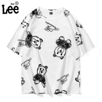 T-shirt Youth fashion routine M L XL 2XL 3XL 4XL 5XL 6XL 7XL 8XL Short sleeve Crew neck easy Other leisure summer Cotton 100% teenagers routine tide Summer 2021 Cartoon animation cotton No iron treatment International brands Pure e-commerce (online only) More than 95%