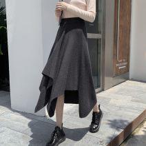 Dress Other Black, apricot high quality spot, black gray high quality spot Average size Solid color cotton