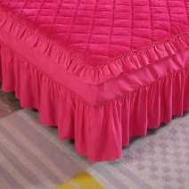 Bed skirt A pair of pillowcases, 120cmx200cm bed skirt piece, 150cmx200cm bed skirt piece, 180cmx200cm bed skirt piece, 180cmx220cm bed skirt piece, 200cmx220cm bed skirt piece Others Other / other Solid color