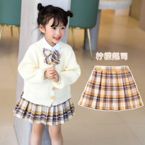 student uniforms Autumn 2020 Lemon Cheese (single skirt) 3673 shirt Lemon Cheese + 3673 shirt two piece set (with bow tie) 100 110 120 130 140 150 160 170 Long sleeves Korean version skirt Under 17 Young bean other ZD20C4043 Other 100% Pure e-commerce (online only)
