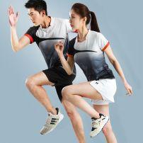 Badminton wear For both men and women Other Football suit WB-11931 White suit male-69w, white suit female-3r5, white coat male-30r, white coat female-sh0 S. M, l, XL, XXL, XXXL, larger