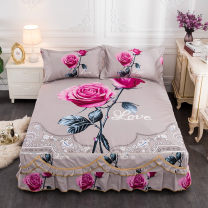 Bed skirt Three piece 1.5m bed skirt, three piece 1.8m bed skirt and three piece 2.0m bed skirt cotton Other / other Plants and flowers Superior products