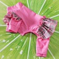 Pet clothing / raincoat currency Dress XS (2-4 kg), s (4-6 kg), m (6-8 kg), l (9-12 kg), XL (13-15 kg), XXL (16-19 kg) Other / other princess Pink thin, light yellow thin, orange thin, Pink Plush, light yellow plush, orange plush M7459
