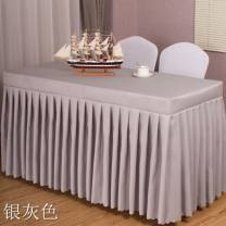 tablecloth chemical fiber Simple and modern Solid color Other brands F3522