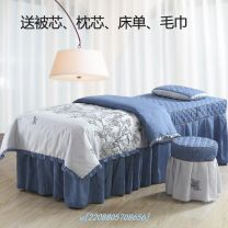 Bedspread Polyester (polyester fiber) Solid color Other / other
