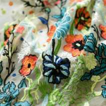 Fabric / fabric / handmade DIY fabric Others Half meter price / 1.3m width Loose shear piece Plants and flowers other Europe and America Other / other