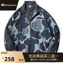 Jacket Park champion Youth fashion camouflage S M L XL 2XL routine easy Other leisure spring T550 camouflage jacket Polyester 100% Long sleeves Wear out Lapel tide youth routine Zipper placket Straight hem No iron treatment Closing sleeve camouflage polyester fiber Spring 2021 Zipper decoration