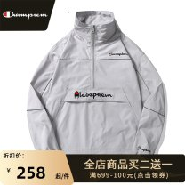 Jacket Park champion Youth fashion Light grayish yellow pink black white S M L XL 2XL 3XL routine easy Other leisure spring T515 jacket Polyester 100% Long sleeves Wear out stand collar tide youth routine zipper Straight hem No iron treatment Closing sleeve Solid color polyester fiber Spring 2021
