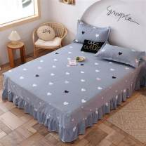 Bed skirt Plants and flowers cotton Other / other Superior products Cotton bed skirt set Chinese Mainland Jiangsu Province Beloved jade, heart, quiet afternoon, ideal tree, Nami, morning and evening, beloved ash, sweetheart story, rain leaf dream, fashion style, sunny day, intoxication Nantong City